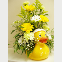 Yellow Duckie Centerpiece $50 & Up