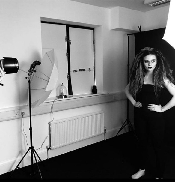 """"""" A queen is never afraid to stand alone"""" creating Leo the Lioness Photoshoot"""