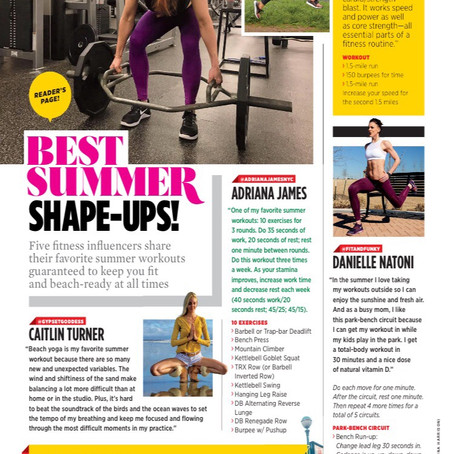 MUSCLE AND FITNESS HERS -  Best Summer Shape-Ups