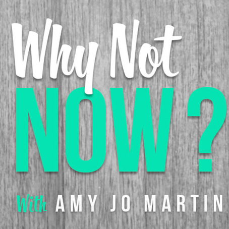 WHY CHANGING CAREERS DOESN'T MEAN STARTING OVER - PODCAST WITH AMY JO MARTIN