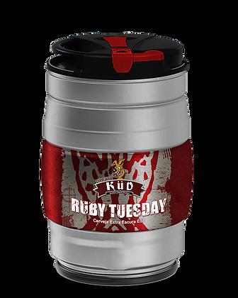 Barrilete 5 Litros chope Ruby Tuesday - Estilo ESB