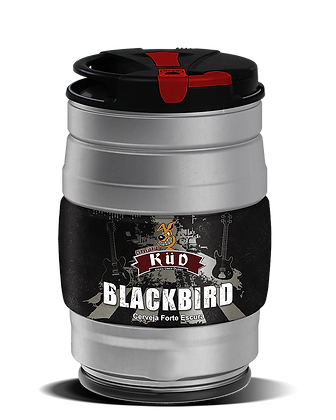Barrilete 5 Litros chope Blackbird - Estilo Black IPA
