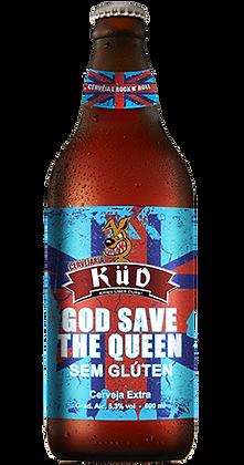 Cerveja God save the Queen - SEM GLÚTEN - 600 ml