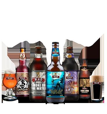 KIT Degustação Avançado - Cervejas mais Complexas da KÜD
