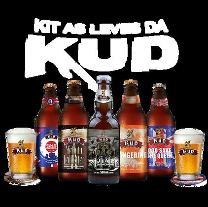 KIT Degustação das Cervejas mais Leves da KÜD