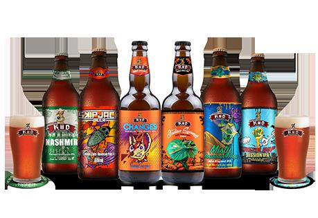 KIT Degustação Intermediário - Cervejas de média complexidade da KÜD