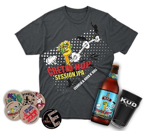 Camisa Cretin Hop - Opção Kit Cerveja