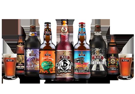 """KIT Degustação da """"Perigosas"""" - Cervejas mais alcoólicas da Cervejaria KÜD"""