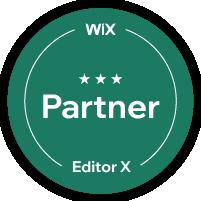 תג שותף רשמי של וויקס