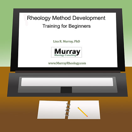 Rheology Method Development Training for Beginners