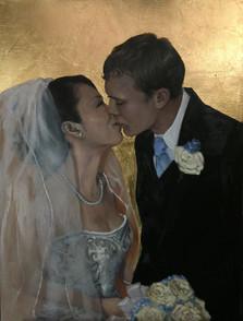 Wedding portrait Ayuko & Jerry Faulkner