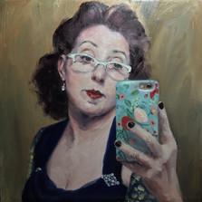 Vintage Selfie