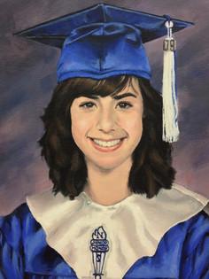 Graduation portrait -Tina