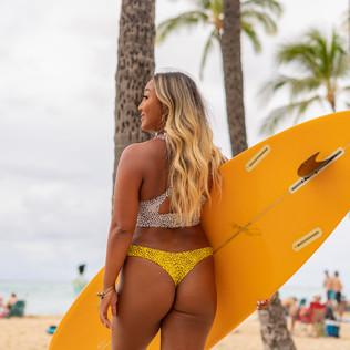 Hawaiian Surfer Girl