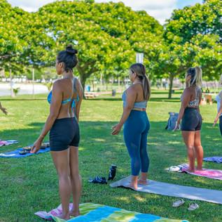 Hawaii Yoga Class