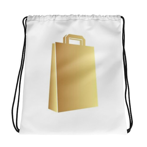 Convenience drawstring bag