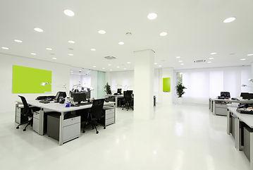Open modern office.