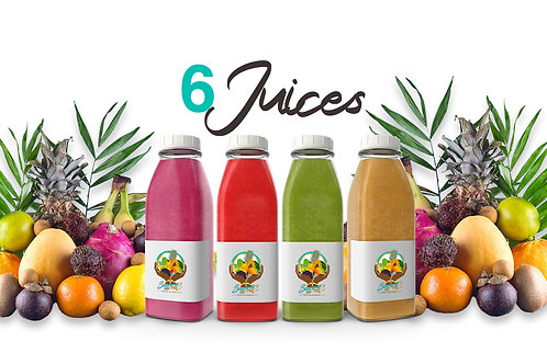 6 Juices