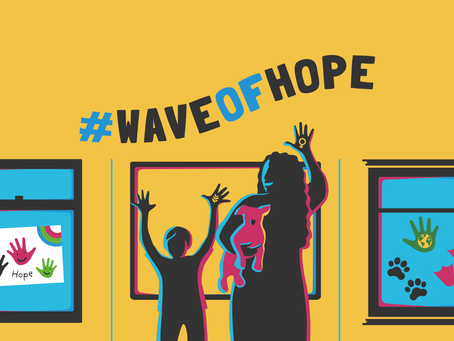 Give a Helping Hand to the Wave Of Hope