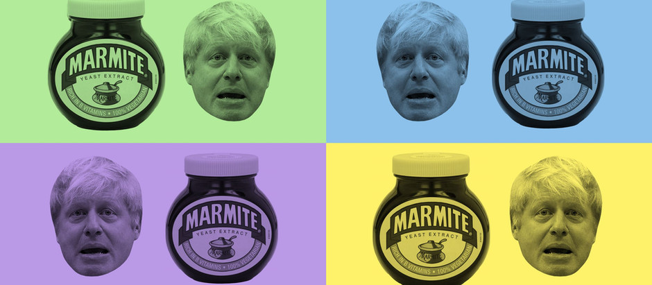 A marmite figure? Boris Johnson was used cleverly across the Conservative's targeted advertisements