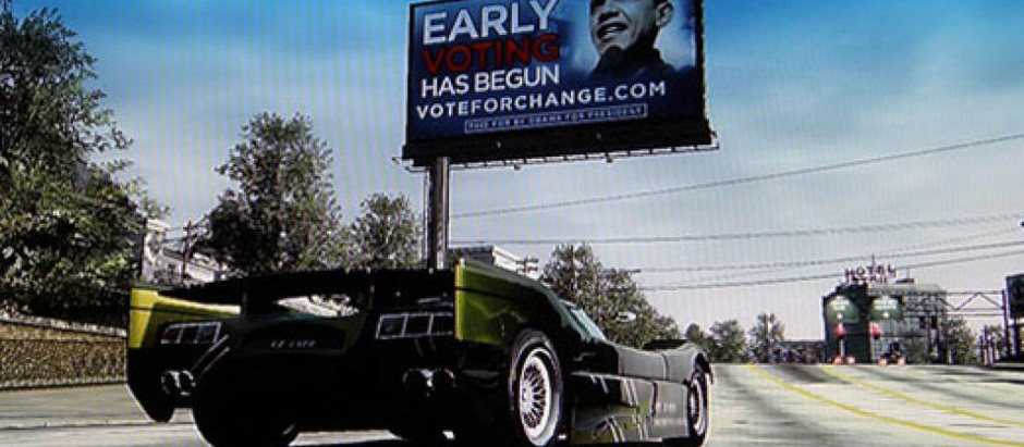 Video game political advertising – the next frontier?