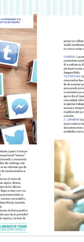 Revista Oh Magazine entrevista Wendy Acevedo
