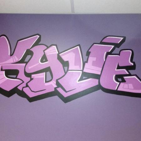 Hand-Painted Graffiti