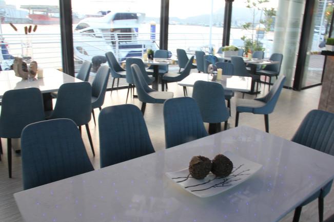 22號碼頭餐廳室內空間