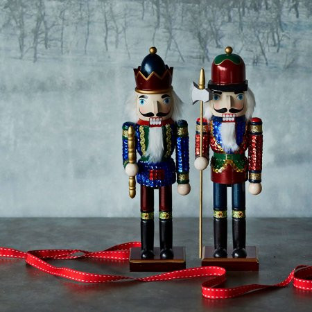 sequin nutcrackers