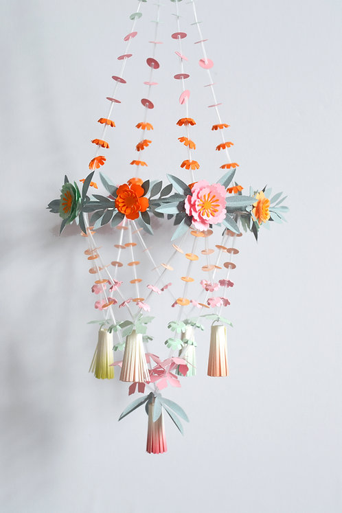 Paper chandelier paper craft kit