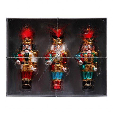 paperchase decorations nutcrackers