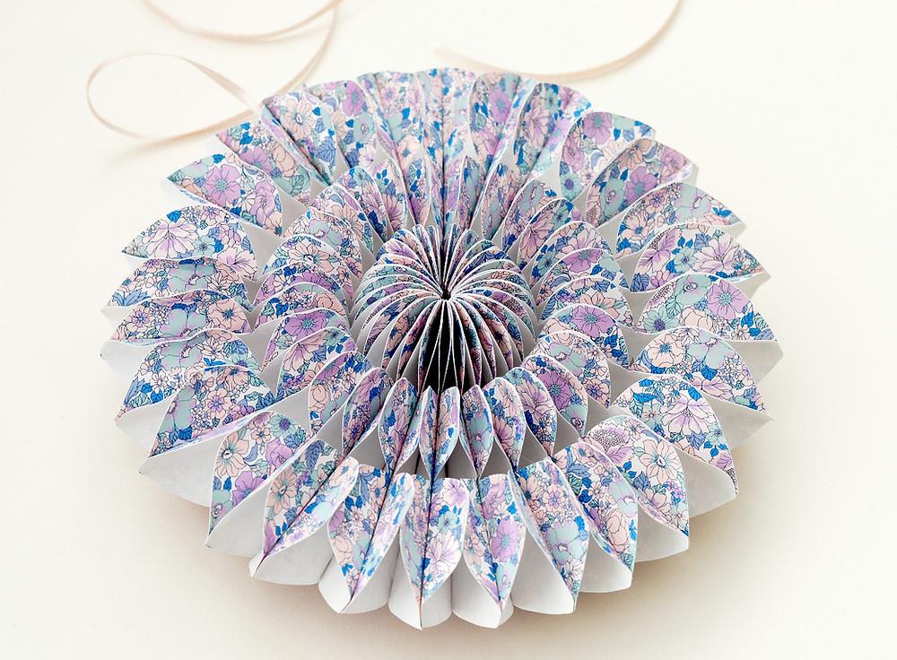 honeycomb pinwheel
