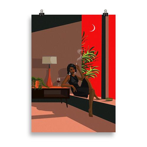 Kristin - Sunset Cigarette