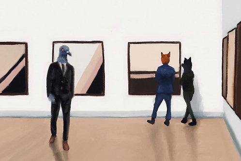 """""""Vernissage"""" - Estelle Graf"""