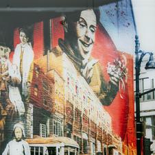 Felicia Berlin - Grafitti Wall