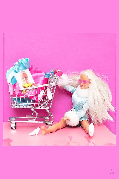 Postcard - Barbie goes homeless