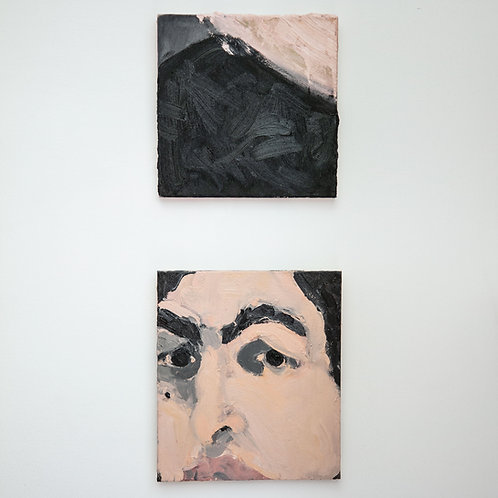"""""""Untitled diptych-1"""" - Neil Bhat"""