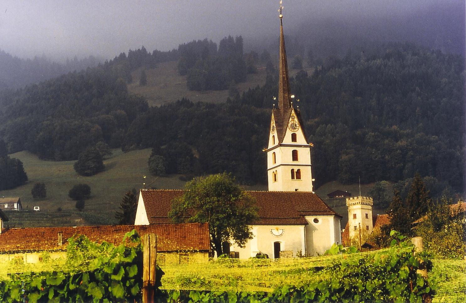Kirche Malans
