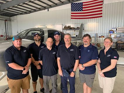 Aeropro Aircraft Maintenance Team at Gulf Shores