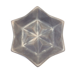 Hexagon star plate.