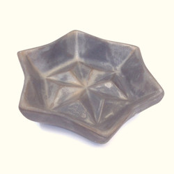 六角星皿 Hexagonal star plate