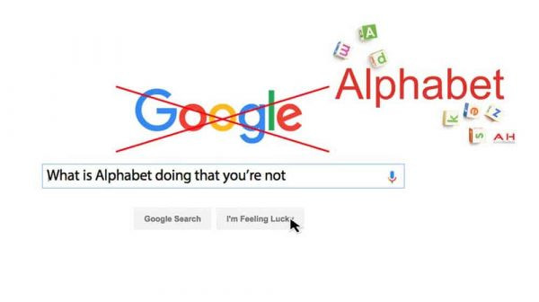 Lessons from Alphabet
