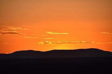 Malawian Tour - Coucher de soleil à Kasungu
