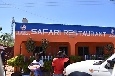Malawian Tour - Restaurant local