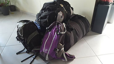 Malawian Tour - Vos bagages