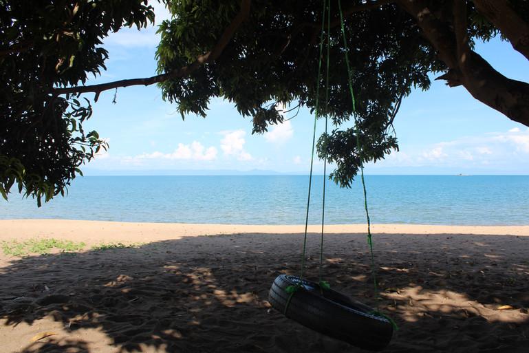Lodge's beach