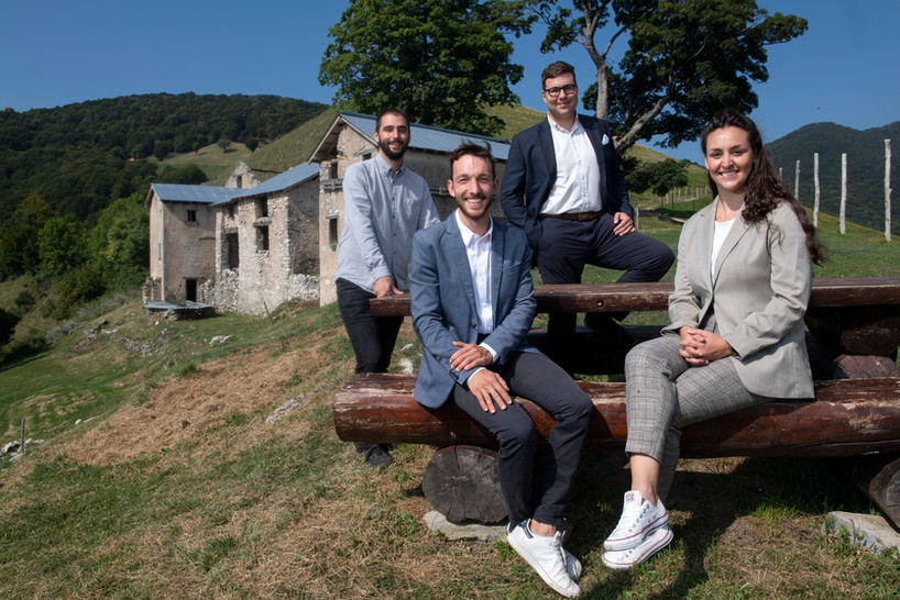 I membri fondatori della Fondazione Pianspessa
