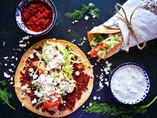 Turkse pizza vega style
