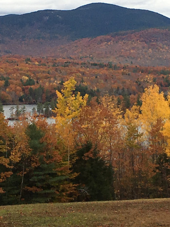 Beautiful Colors of The Western Maine Mountains