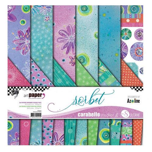 "Carabelle Studio  Papier Pack 30,5 x30.5cm ""Sorbet"""
